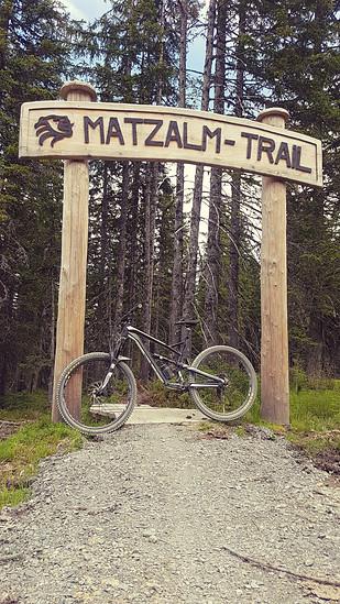Matzalm trail leogang yt jeffsy