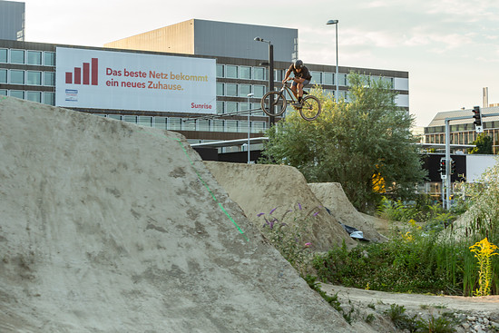 NT Dirt - Trails mitten in der Stadt