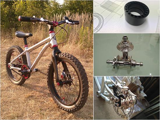 "Umbau Early Rider Belter 16"""