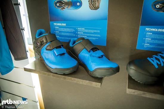 Giant stellt auch eine große Auswahl an Accessoires und Bekleidung wie Schuhe …
