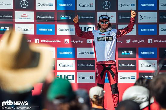 Ein Rennen vor Schluss ist Thibaut Daprela in der Gesamtwertung nicht mehr einzuholen.