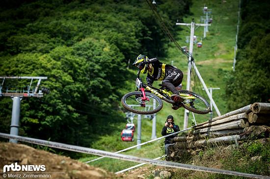 Connor Fearon liegt nach seinem 15. Platz in Mont-Sainte-Anne nun auf Rang 11 in der Gesamtwertung