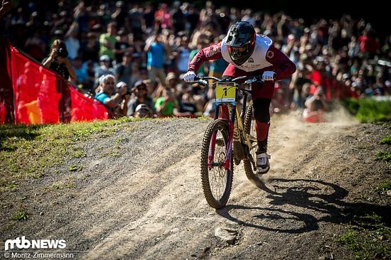 Sein Ziel war es, sich vor Laurie Greenland und Loris Vergier zu platzieren, um die Gesamtwertung vorzeitig für sich zu entscheiden