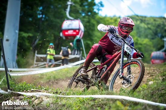 In Mont-Sainte-Anne war Gaetan Vige schneller als sein berühmter Teamkollege Brendan Fairclough unterwegs