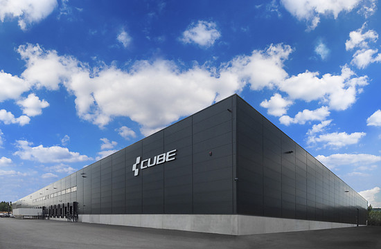 Das Cube Firmen-Hauptquartier im oberpfälzischen Waldershof