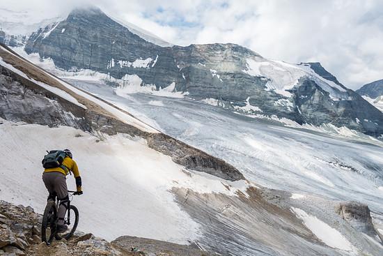 glacier riding Foto: DJT