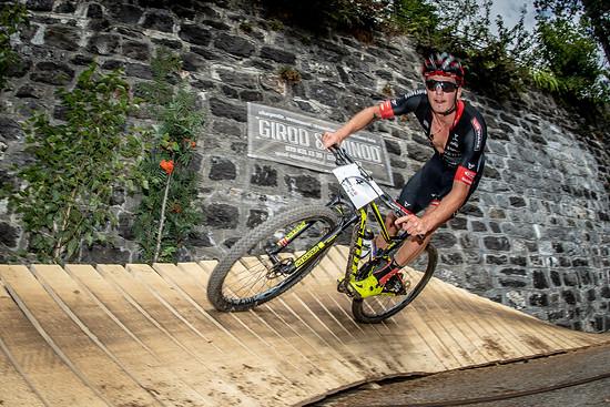 Georg Egger fuhr beim Swiss Bike Cup in Villars ein couragiertes Rennen