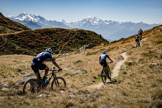 during Stage 1 of the 2018 Perskindol Swiss Epic held in Bettmeralp, Valais, Switzerland on 11 September 2018. Photo by Alex Buscher. PLEASE ENSURE THE APPROPRIATE CREDIT IS GIVEN TO THE PHOTOGRAPHER