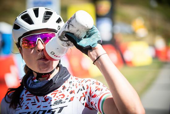 Rang drei für Barbara Benko und ihre Teamkollegin Anne Terpstra auf der zweiten Etappe