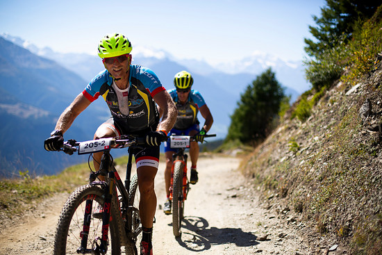 Chris Gerber during Stage 1 of the 2018 Perskindol Swiss Epic held in Bettmeralp, Valais, Switzerland on 11 September 2018. Photo by Nick Muzik. PLEASE ENSURE THE APPROPRIATE CREDIT IS GIVEN TO THE PHOTOGRAPHER