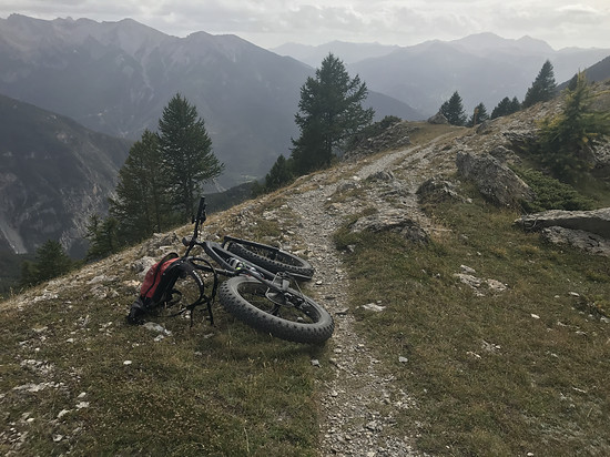 Trail über Guil