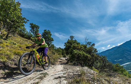 Sonne Trails in Latsch