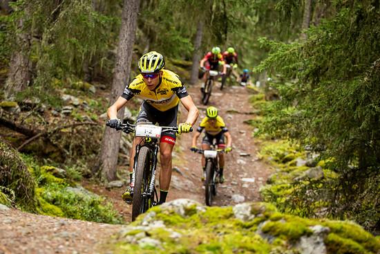Trotz Gesamtführung bisher noch kein Etappensieg für das Team Scott-SRAM - das holten Andri Frischknecht und Matthias Stirnemann heute aber nach
