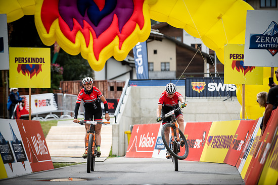 during Stage 4 of the 2018 Perskindol Swiss Epic held from Graechen to Zermatt, Valais, Switzerland on 13 September 2018. Photo by Marius Maasewerd.