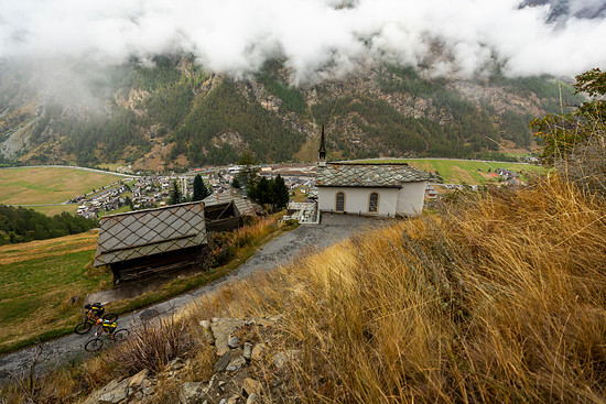 Scenic during Stage 4 of the 2018 Perskindol Swiss Epic held from Grächen to Zermatt, Valais, Switzerland on 14 September 2018. Photo by Nick Muzik. PLEASE ENSURE THE APPROPRIATE CREDIT IS GIVEN TO THE PHOTOGRAPHER