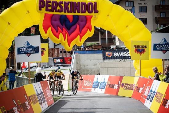 Das knappe Sprint-Finish der vierten Etappe!
