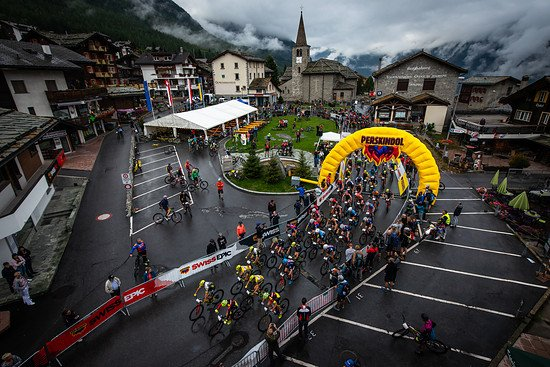 during Stage 4 of the 2018 Perskindol Swiss Epic held from Graechen to Zermatt, Valais, Switzerland on 13 September 2018. Photo by Marius Maasewerd. PLEASE ENSURE THE APPROPRIATE CREDIT IS GIVEN TO THE PHOTOGRAPHER