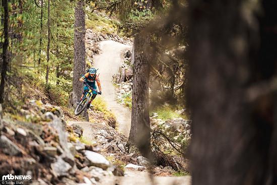 Kurvige Slalom-Abschnitte wechseln sich mit schnellen Passagen