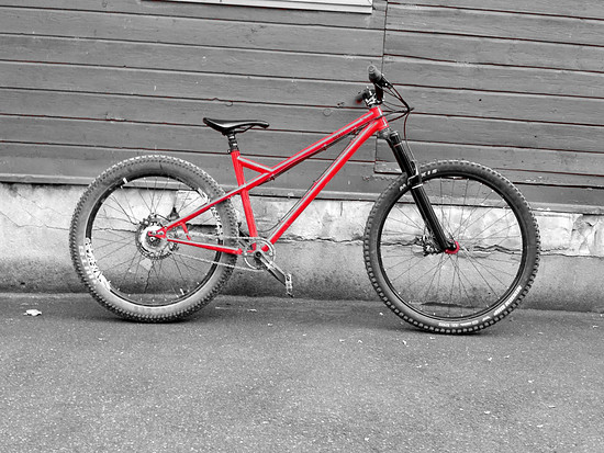 Sick Bicycle Wülf 4130.