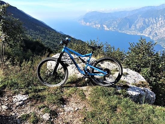 Gardasee - kurz vor dem Trail nach Navene
