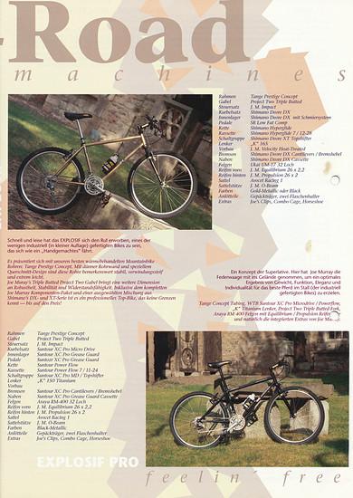 K-Bikes (Kona) Katalog '91 (4von8)