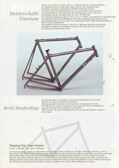 K-Bikes (Kona) Katalog '91 (6von8)