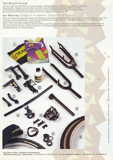 K-Bikes (Kona) Katalog '91 (8von8)