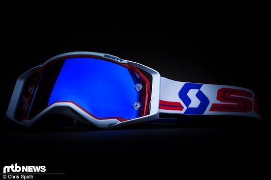 Die Brendog-Goggle: Mit der Scott Prospect wollen die Schweizer eine für alles haben