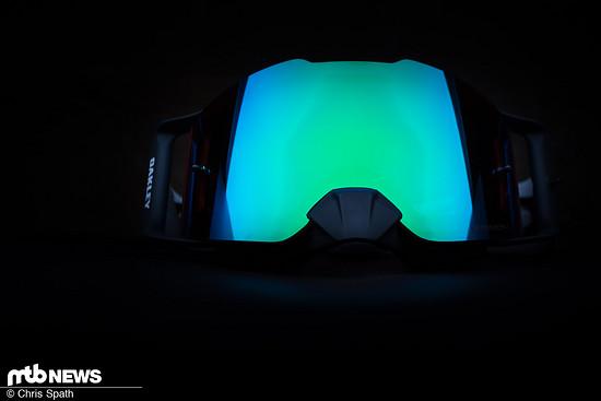Als MX-Brille darf der Nasenschutz nicht fehlen
