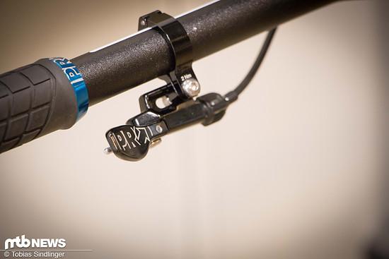 Wer einen Einfach-Antrieb fährt, kann beispielsweise einen zweiten Trigger zum Bedienen der Sattelstütze nutzen.