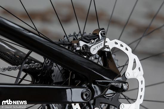 ... für die Shimano XTR Trail-Bremse mit vier Kolben
