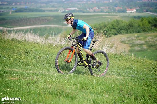 Für Cross Country und Trail-Biker ist der Scott Fuga Plus Helm ein treuer Begleiter