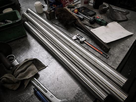 Für eine Kleinstserie ist es gar nicht so einfach, die passenden Rohrsätze zu bekommen