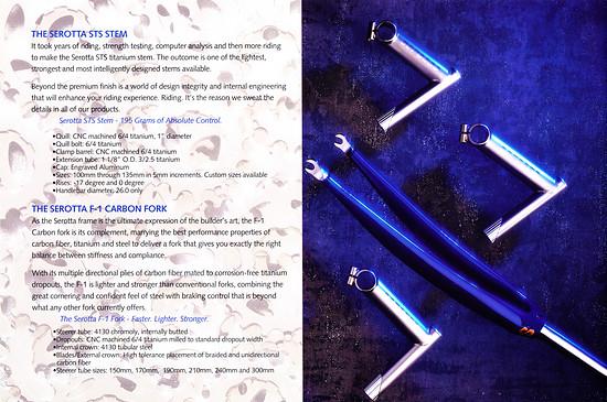 Serotta Katalog '96 (18von20)