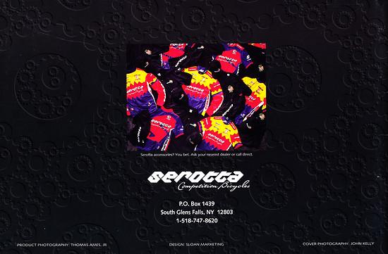 Serotta Katalog '96 (20von20)