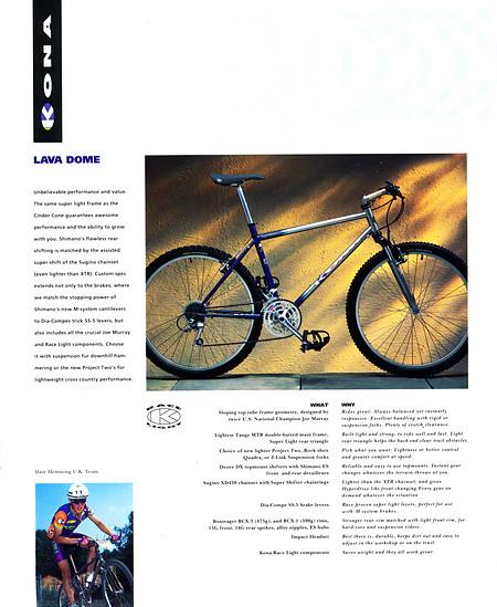 Kona (K-Bikes) Katalog '93 (9von16)