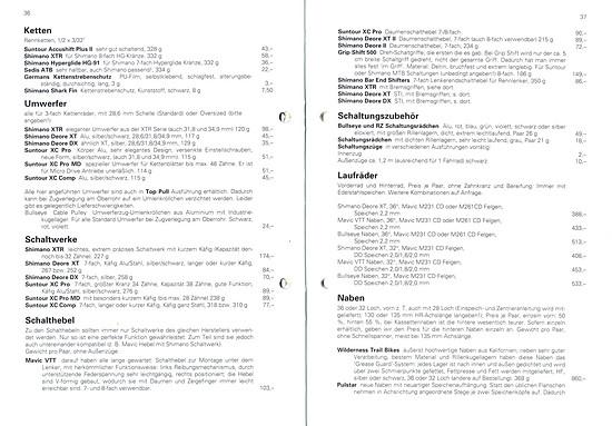 Germans Cycles Katalog '93 (36+37von60)