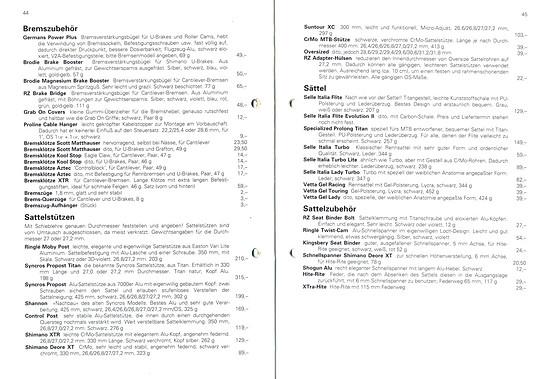 Germans Cycles Katalog '93 (44+45von60)