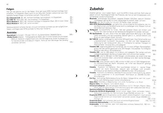 Germans Cycles Katalog '93 (48+49von60)