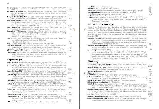 Germans Cycles Katalog '93 (50+51von60)