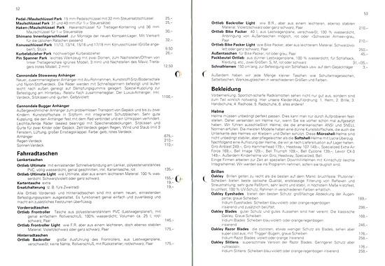 Germans Cycles Katalog '93 (52+53von60)