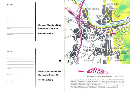Germans Cycles Katalog '93 (58+59von60)