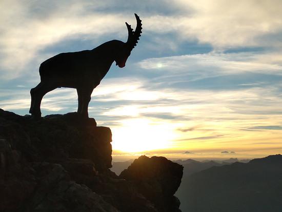 Piz Nair Sunrise