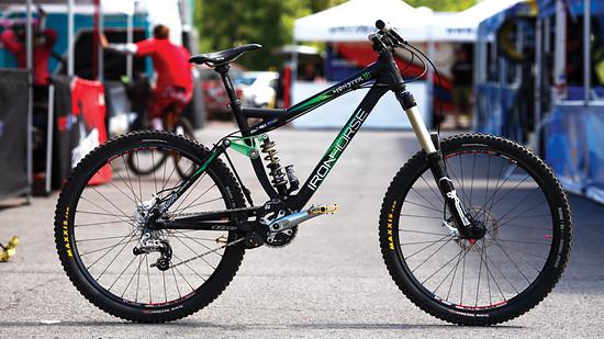 Sam Hill's Custom Ironhorse Super D