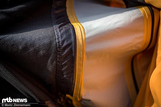 Das Highlight der Endura MT500-Jacke ist das dreilagige ExoShell60-Gewebe