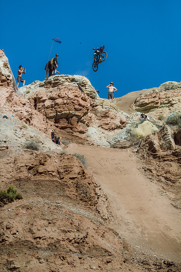 Adolf Silva rides during the Red Bull Rampage in Virgin, Utah, USA on 24 October, 2018. // Peter Morning/Red Bull Content Pool // AP-1XAAXXXQS2111 // Usage for editorial use only // Please go to www.redbullcontentpool.com for further information. //