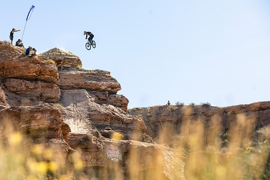 Carson Storch competes at Red Bull Rampage in Virgin, Utah, USA on 26 October, 2018. // Garth Milan/Red Bull Content Pool // AP-1XAYSWB3N2111 // Usage for editorial use only // Please go to www.redbullcontentpool.com for further information. //