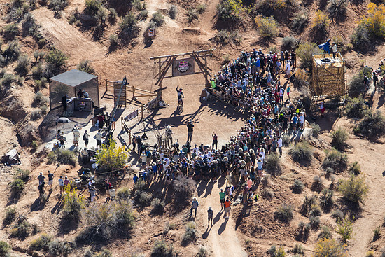 Brett Rheeder rides during the Red Bull Rampage in Virgin, Utah, USA on 26 October, 2018. // Christian Pondella/Red Bull Content Pool // AP-1XAYRRRGH2111 // Usage for editorial use only // Please go to www.redbullcontentpool.com for further informati