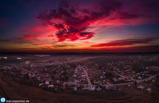 Sonnenuntergang Bestensee-Nord