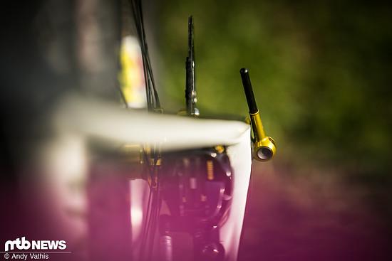Überall am Bike von Sina Frei kann man spannende kleine Details entdecken, die sich auch optisch perfekt einfügen.